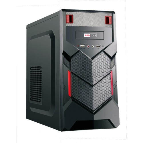 REDrock M215BR mATX Case Peak 250W P.Supply