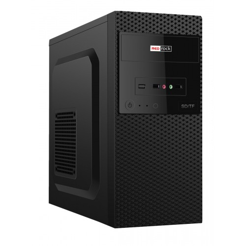 REDrock M302BB mATX Case Peak 300W P.Supply
