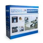 REDrock 5016XN 16Kanal AHDDVR 4*Audio+2*HDD+1*HDMI