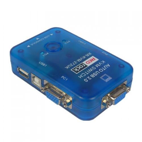 RR-KVM-272UK 2 PORT USB AUTO KVM SWITCH