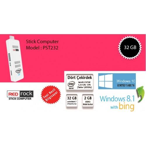 REDrock PST232W, 2GB RAM, 32GB eMMC, Win 8.1,HDMI